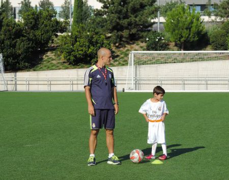 Campus de Fútbol Fundación Real Madrid Interno - Campus de Fútbol