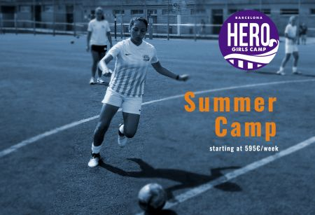 Campamento Femenino Residencial - Hero Girls Camp 2019 - Campus de Fútbol